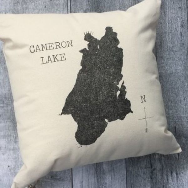 Cameron Lake Silhouette Cover